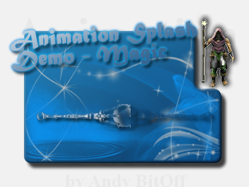 Animation Splash Form Demo :: ASFDemoMagic